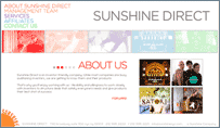 Sunshine Direct Website